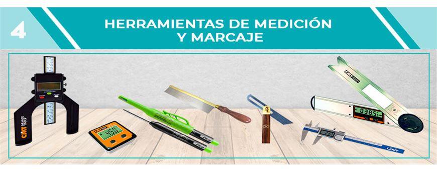 HERRAMIENTAS DE MEDICIÓN Y MARCAJE | Comercial Pazos