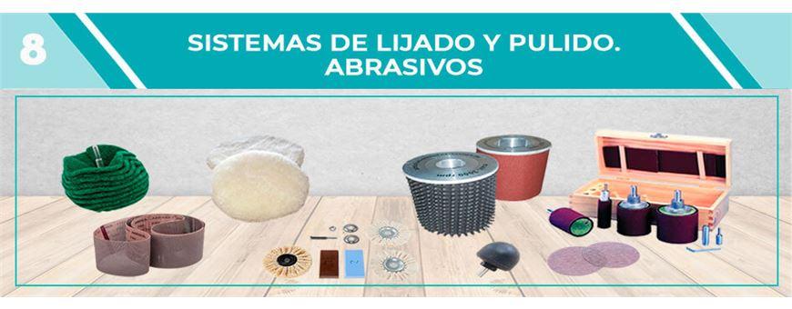 SISTEMAS DE LIJADO Y PULIDO. ABRASIVOS | Comercial Pazos