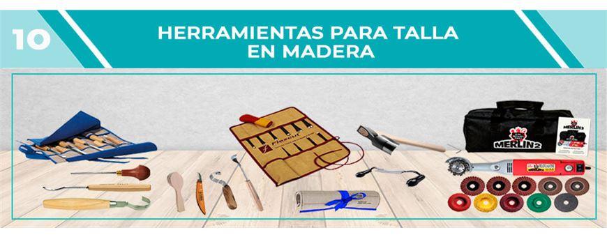 Herramientas para tallar madera | Comercial Pazos