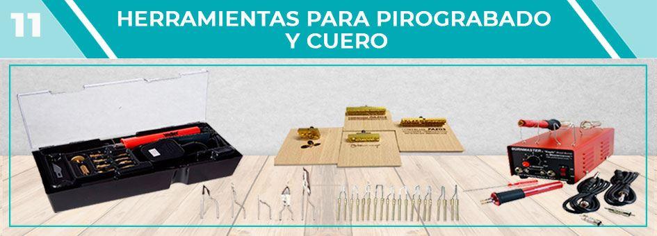 HERRAMIENTAS PARA PIROGRABADO Y CUERO | Comercial Pazos