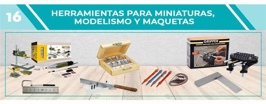 Herramientas para Modelismo, Maquetas y Miniaturas | Comercial Pazos