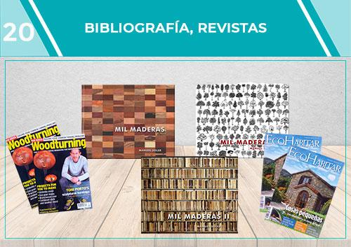 Bibliografía, vídeos y revistas