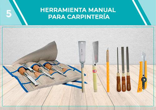 Herramienta manual de carpintería